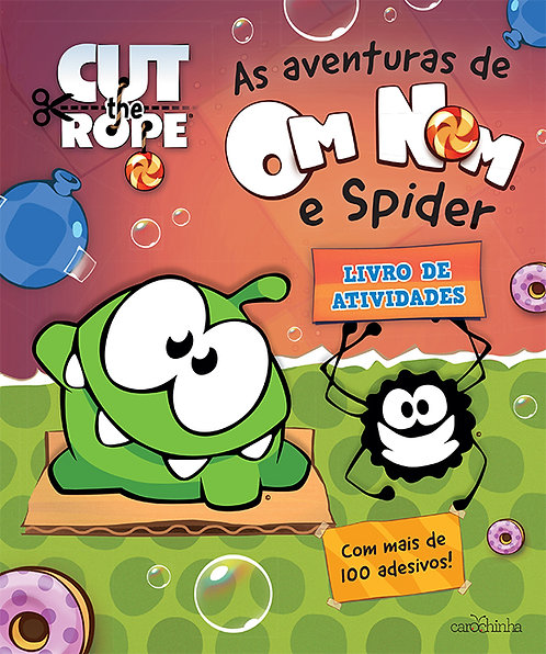 As aventuras de Om Nom® e Spider
