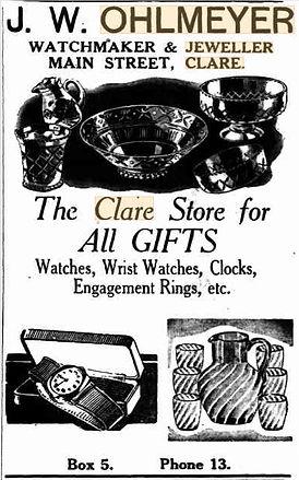 Ohlmeyer Watch Jewellery advertisement