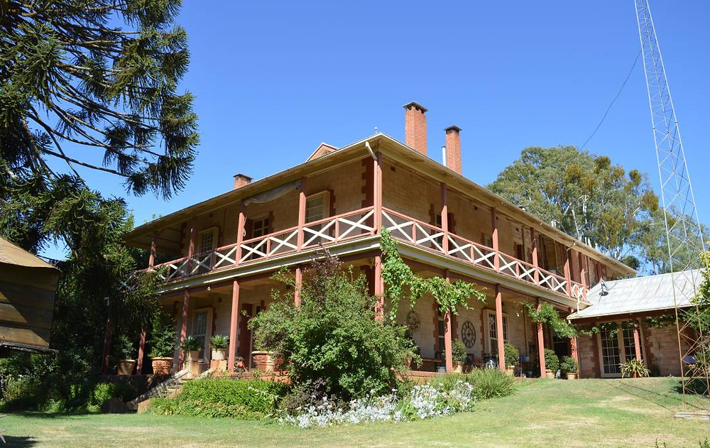 The original homestead was built in the 1850s and was substantially extended in the 1920s.