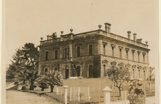 Martindale Hall built for 36,000 Pounds in 1879-80 by the first owner Edmund Bowman. B-6834