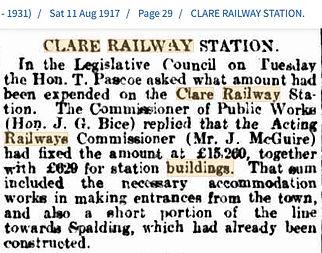 Clare Railway Station 11 Aug 1917.jpg