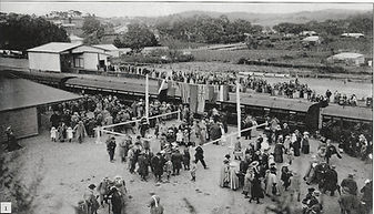 Opening of Clare Railway