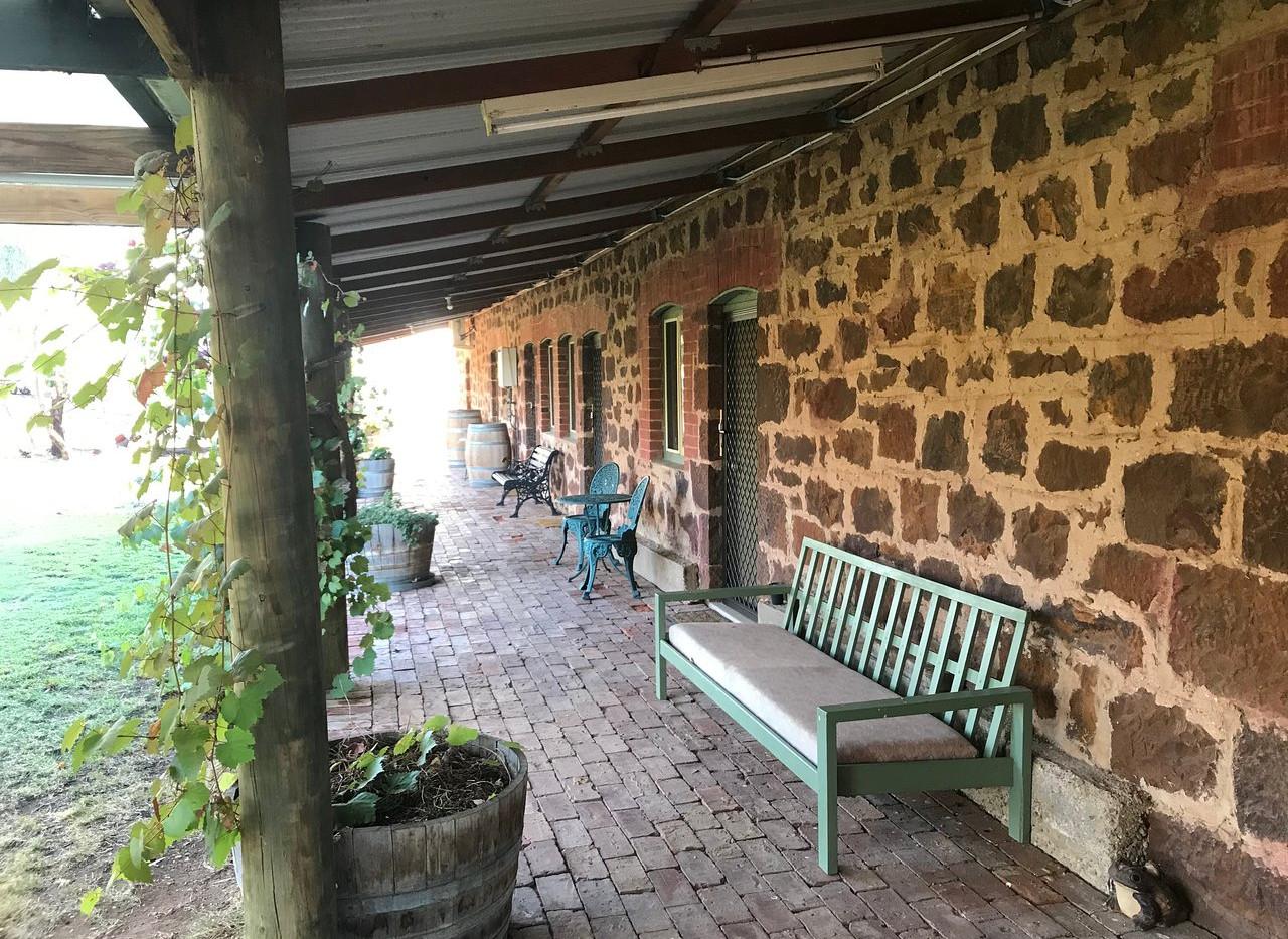 Hummocks Station verandah