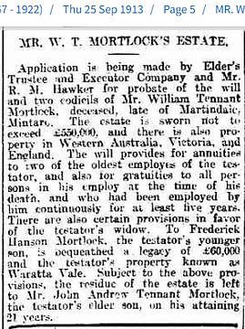 25 Sep 1913 Mr W T Morlock's Estate.png