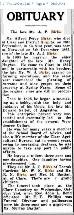 10 Oct 1946 Obituary A.P. Birks.jpg
