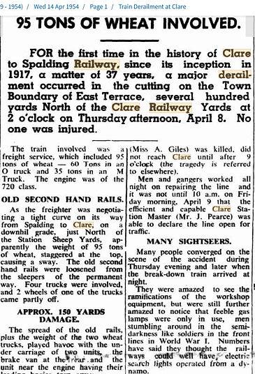 14 Apr 1954 Train Derailment at Clare.jp