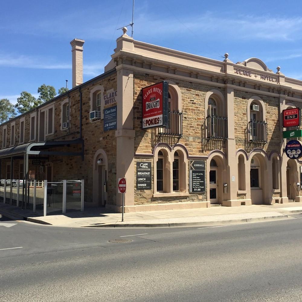 Historic Clare Hotel Main Road, Clare SA
