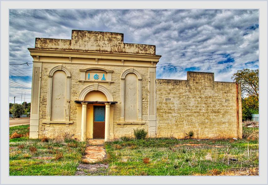 Stuart SmithFollow Old Freemasons Hall, Railway Terrace, Snowtown, South Australia
