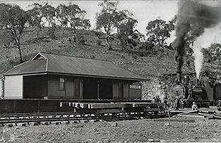 Clare Railway Station 1917