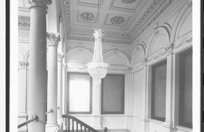 Martindale Hall back stairway. B-46421.jpeg