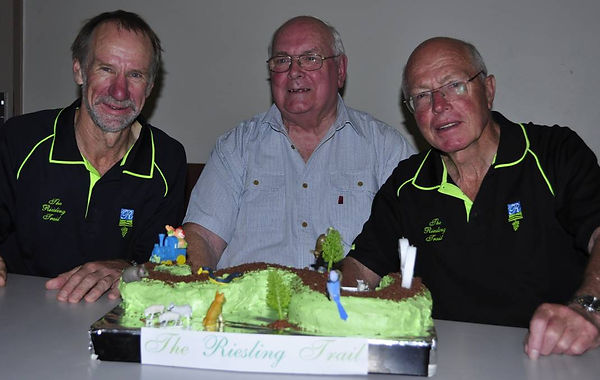 Alan Mayfield, Graham Mills and Peter Woood.