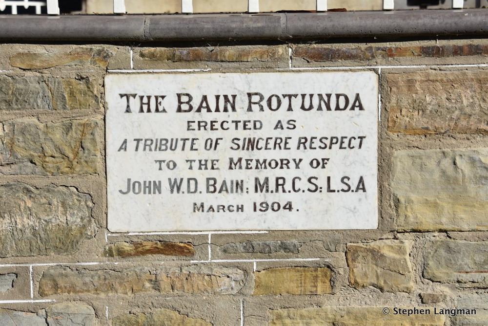 Memorial to Dr Bain, Clare SA