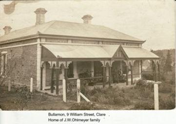 Ohlmeyer home Bullamon, in 9 William Str