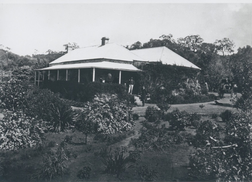 The house built in Clare SA by Dr Bain