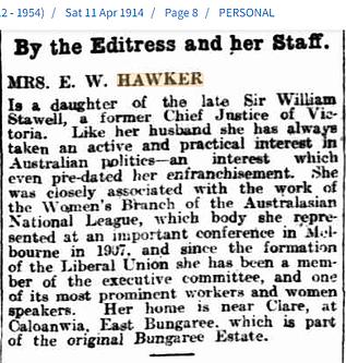 Mrs E.W. Hawker, 11 April 1914.png