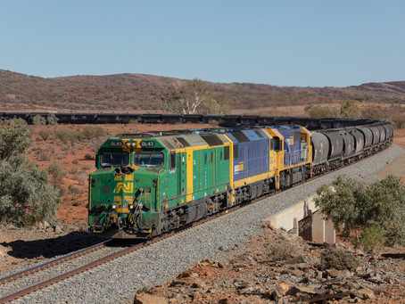 Snowtown's busy trains