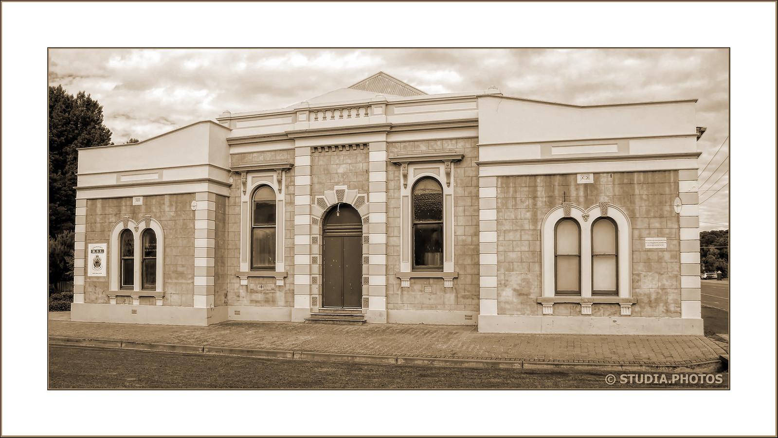 Soldiers Memorial Hall, Cnr Railway Terrace East & Fourth Street, Snowtown, South Australia c.1924