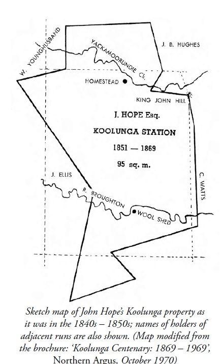 John Hope's Koolunga property on the Bro