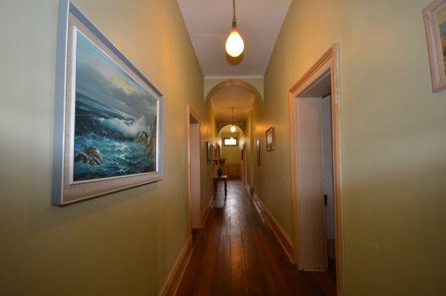 Hummocks Station hallway