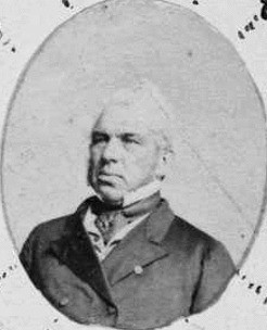 Portrait of Politician Edward Stirling (1804 - 1873)