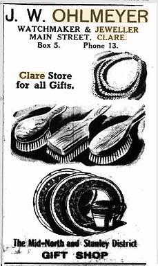 Ohlmeyer advertisement  Wed 19 Mar 1952.