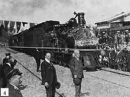 Vice-regal Opening of Clare Railway