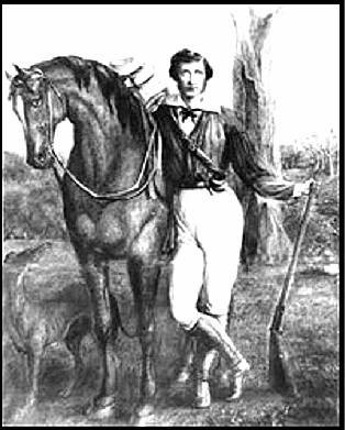 John Ainsworth Horrocks (1818-1846), by Colonel Temple, c1840