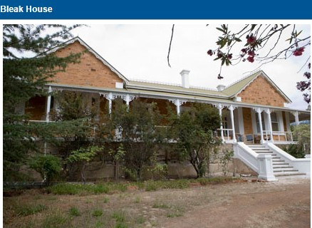 """Weroona"", formerly Bleak House, Christison family home at Clare SA"