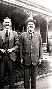 Dr G. Wien-Smith and his Father Dr edite