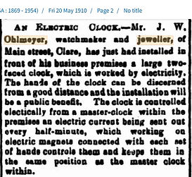 Electric Clock installed 20 May 1910.jpg