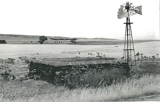 Heritage listed square stone tank, Bumbu