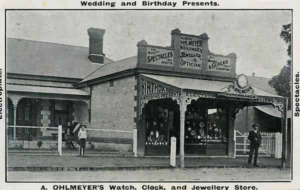 Ohlmeyer Watch, clock and jeweller store