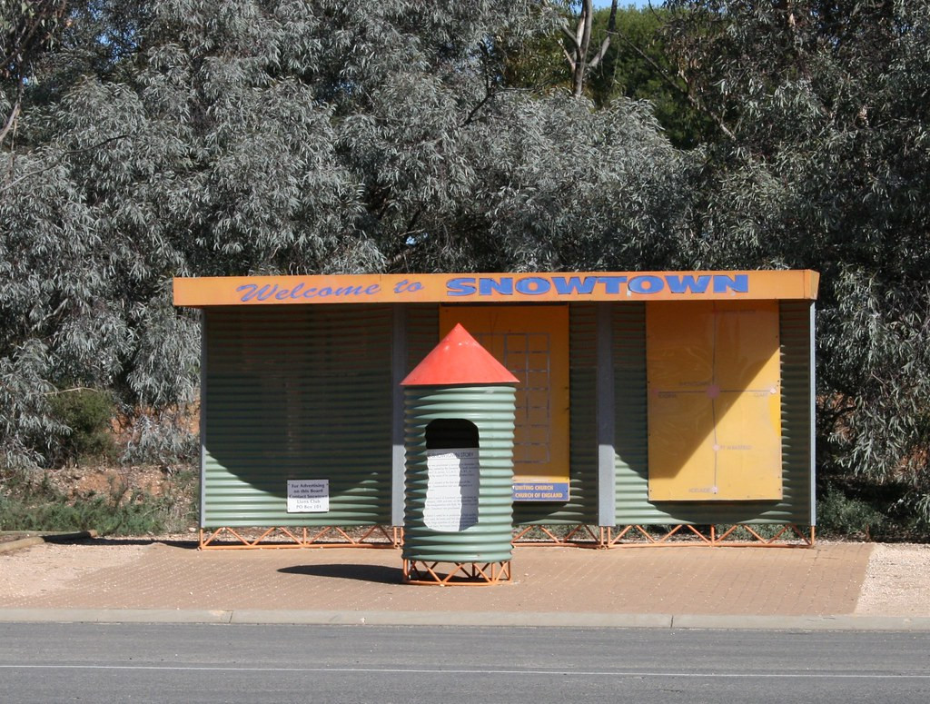 Welcome to Snowtown Information Kiosk