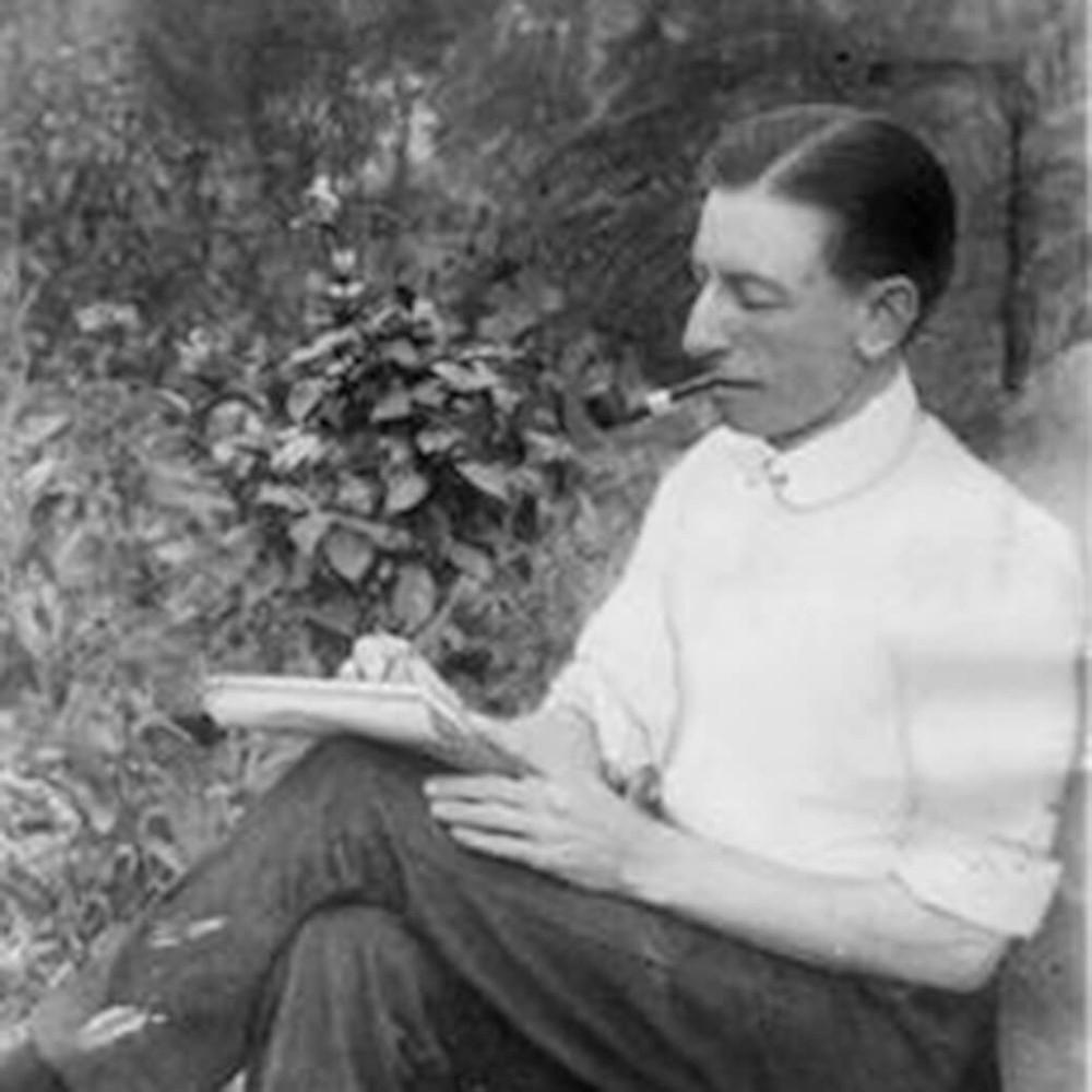 Famous Australian writer Clarry C J Dennis