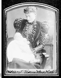 Margaret Tennant with son Andrew. 1899 B-48098.jpeg