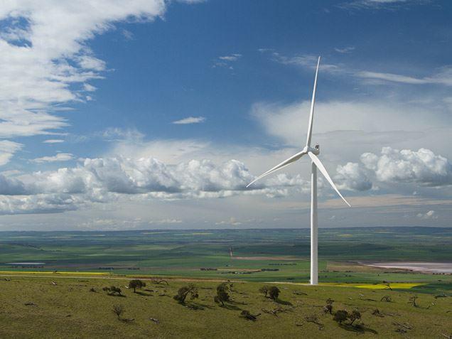 Snowtown Wind Farm on the Barunga Range