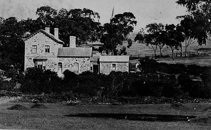 Photograph of Bungaree Homestead in 1863