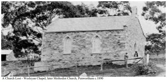 Wesleyan Chapel, Penwortham SA