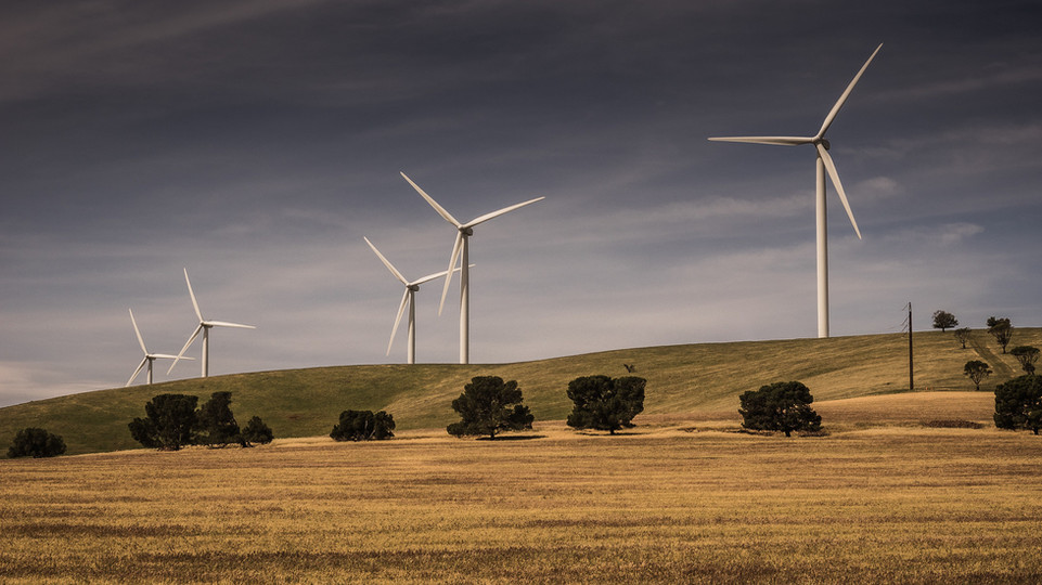 snowtown wind farm, south australia