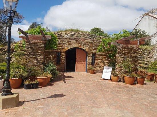 Wines to trains, Wilson Cellar door