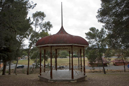 The Bain Rotunda in Clare South Australia