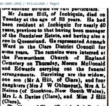 Death James Hill Argus 2 July 1920.jpg