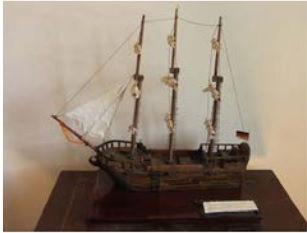 Barque 'Prisislav' which made one trip t
