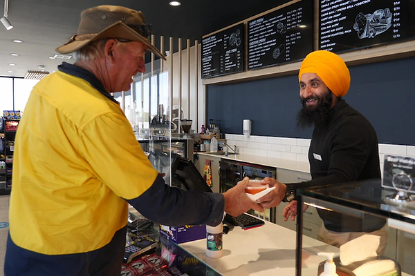 Snowtown Roadhouse owner Charat Singh se