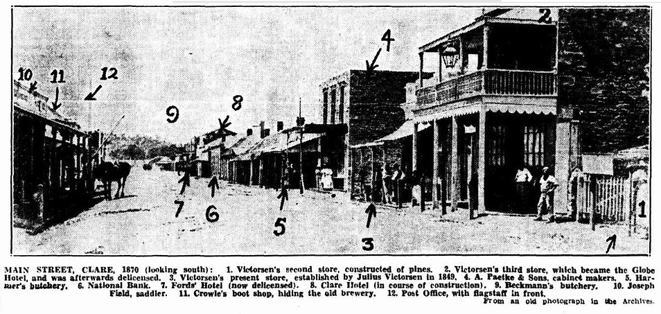 Main Street of Clare, annotated 1870's.j