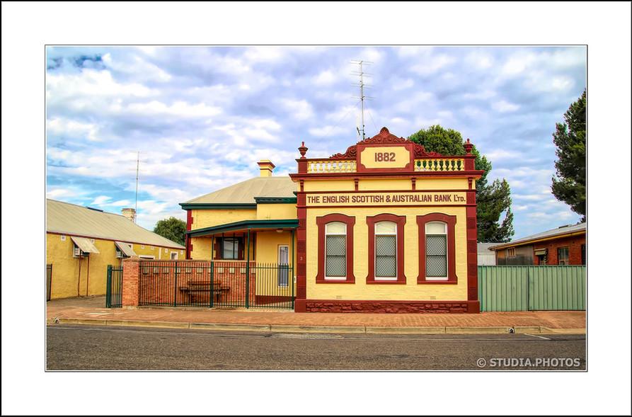 Former ES&A Bank, Fourth Street, Snowtown South Australia c.1882