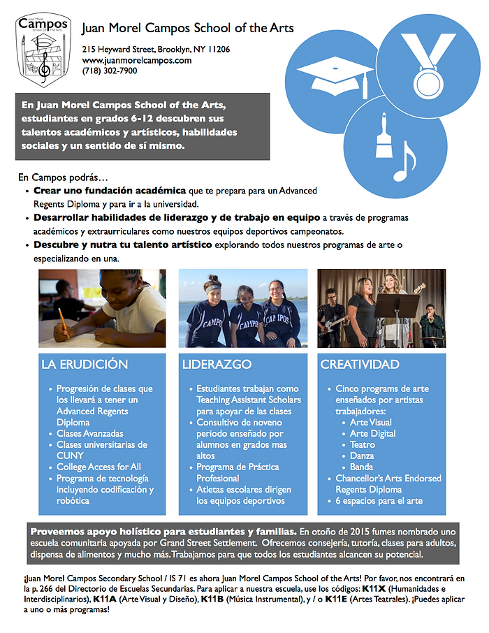 Recruitment One-Pager_HS Spanish 2018-19