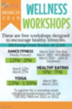 Wellness Workshops Mailing Flyer - Made