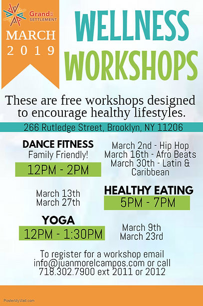 Wellness Workshops Mailing Flyer - Made