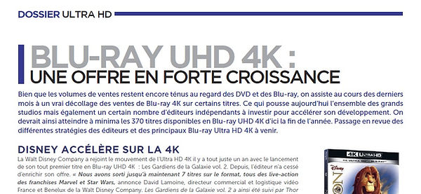 2018 12 - MM1 - Blu-ray UHD 4 K Une offr
